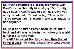 72b- Kuhn remembers Don Brown
