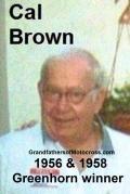 Brown, Cal 1956 & 1958 Greenhorn winner, photo taken at 2004 Kuhn party