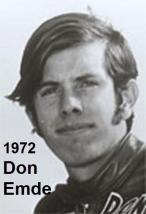 Emde, Don (AMA) 1972 won Daytona 200, like his dad Floyd, inducted AMA 1999