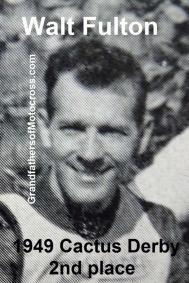 Fulton, Walt (AMA) 1949 2nd place Cactus Derby