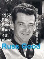 Good, Russ 1952 Big Bear Run, 4th place