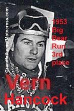 Hancock, Vern 1953 Big Bear 3rd, 1954 also 3rd