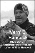 Hancock, Vern, life 1926 to 2012