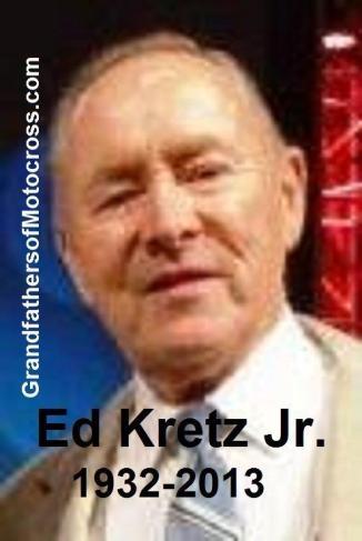 Kretz, Ed Jr. a1 'Eddie' (AMA) 2012 photo taken by V. Kuhn in Vegas, Eddie was 1 of the good guys Kuhn says