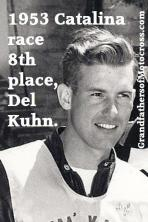 Kuhn, Del (AMA) 1953 Catalina wins 8th & 2nd place team trophies, laid Catalina course