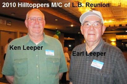 Leeper brothers 2010 Hilltoppers MC Reunion Ken Leeper & Earl Leeper