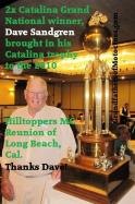 SANDGREN, Bob 2010 2x 1957, 1958 CATALINA winner & TROPHY