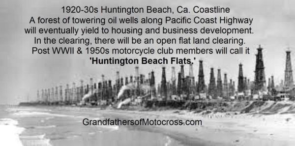 1920-30s Huntington Beach, California coastline
