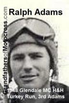 1948 12-19 a10 Ralph Adams 4th in Glendale MC H&H TURKEY RUN