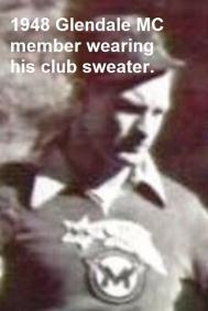 1948 12-19 a12 Glendale MC member in club sweater