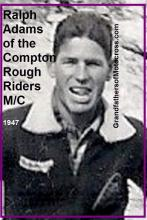 1950 3-19 a6 event, 1947 Ralph Adams, a member of the Compton Rough Riders MC (2)