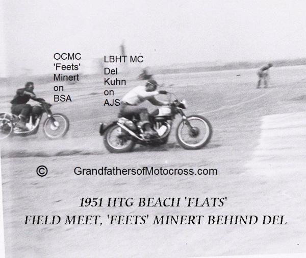 1951 Huntington Beach Flats a2, Hilltoppers OCMC meet, Kuhn & Minert