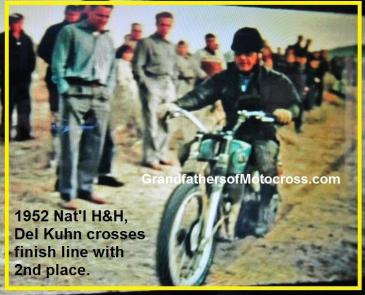 1952 12-7 d5 Natl. H&H Championship Kuhn barrels in with 2nd