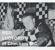 1953 2-1M 11th Red Ludford Checkers MC , 1953 Cactus H&H aka Chase