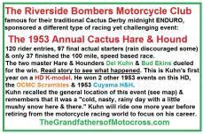 1953 2-1b Riverside Bombers MC Cactus H&H, not Cactus Derby
