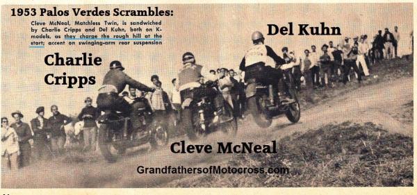 1953 4-0 s3a CRIPPS, McNeal, Kuhn, PALOS VERDES SCRAMBLES