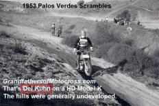 1953 4-0 s3f DEL KUHN, Palos Verdes Scrambles on HD K model