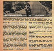 1953 5-0k6b HD motorcycle, HD K model, the engine, gearing, tanks, saddle etc