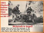 1953 7s Examples of Sidecar racers, McIntosh & Angell