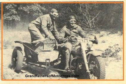 1953 9s Examples of Sidecar racers