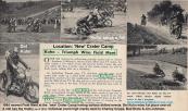 1954 a1 MAY #5 Kuhn, C. Cripps, B. Ekins, Jim Johnson So. Cal. Field Meet New Crater Camp Between No. San Fernando & Malibu