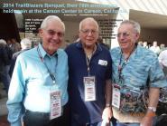 2014 4-5d TrailBlazers & LB Hilltoppers mc members, Del Kuhn, Svend & Elmer Rasmussen