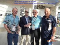 2014 4-5e TrailBlazers 70th, bros. Elmer & Svend Rasmussen , Dave Ekins & Del Kuhn