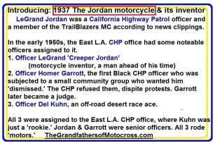 c0 Introduction to LeGrand Jordan, The Jordan Motorcycle