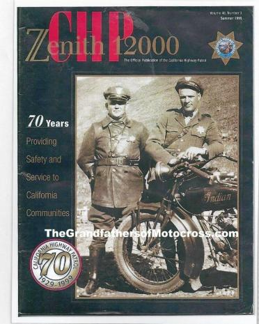 c20 LeGrand Jordan helped promote CHP magazine. Issue 1999 The CHP is 70 years old