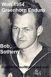 1954 a1 Won Greenhorn, BOB SOTHERN, LB HillToppers mc Club, not Southern