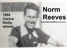 1992 4-25 a41 Norm Reeves 1954 winner, Cactus Derby history banquet, 400 miles, Jack Rabbits MC