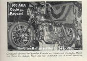 AMA 1953 4-0c AMA cycle pageant, HD K model