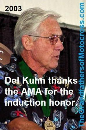 AMA 2003 10-5m Hall of Fame acceptance speech by Del (2)