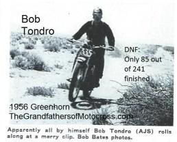 1956 a9 Greenhorn, Bob Tondro
