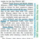 1957 6-1a2 Eddie Day wins Greenhorn, Frank Heacox, Ralph Adams, Lance Tidwell, JIm Nelson, Dottie Ellison