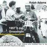 1957 6-1a5a1 Greenhorn, Ralph Adams at check point, Johnny Quick