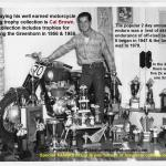 1958 6-0 b11 Greenhorn, CAL BROWN WINS another Greenhorn trophy