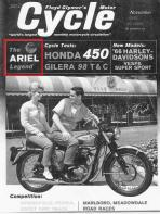 1965 Ariel cycle story by Cal Brown,