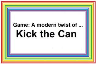 Kick the Can game