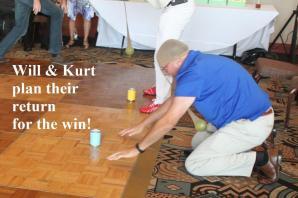 Kurt goes back