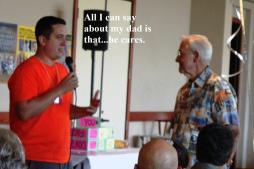 Martin & dad Del