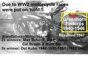 1940 thru 1946 No Greenhorn race WAR YRS. 1940-1946, Del's Indian Chief 36'