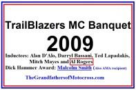 2009 Trailblazers a1 D'Alo, Bassani, Lapadakis, Mayes, Al Rogers, M. Smith
