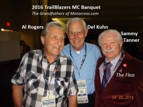 2016 a2 Al Rogers, Del Kuhn & Sammy Tanner at TrailBlazers