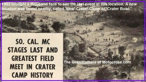 1953 6-b SoCal MC known for their Crater Camp field meets
