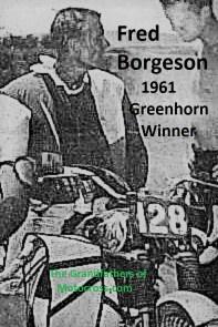 1961 Greenhorn 01 winner Fred Borgeson c. 1963