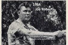 1961 Greenhorn 24a but 1954 Joe Roberts of San Gabriel