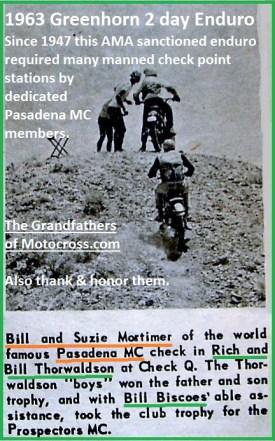 1963 Greenhorn a16 PMC Bill & Suzie Mortimer, Rich & Bill Thorwaldson