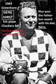 1964 Greenhorn z18 Checkers MC Gene Hirst 5th..