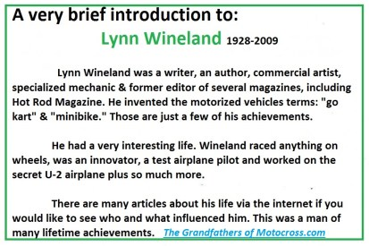 1964 Greenhorn z35 Introducing author Lynn Wineland
